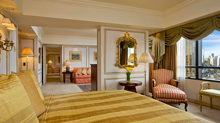 park tower a luxury collection hotel st regis suite bedroom