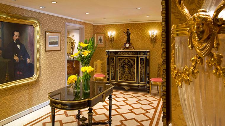 park tower a luxury collection hotel st regis suite foyer