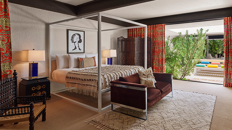 parker palm springs gene autry bedroom