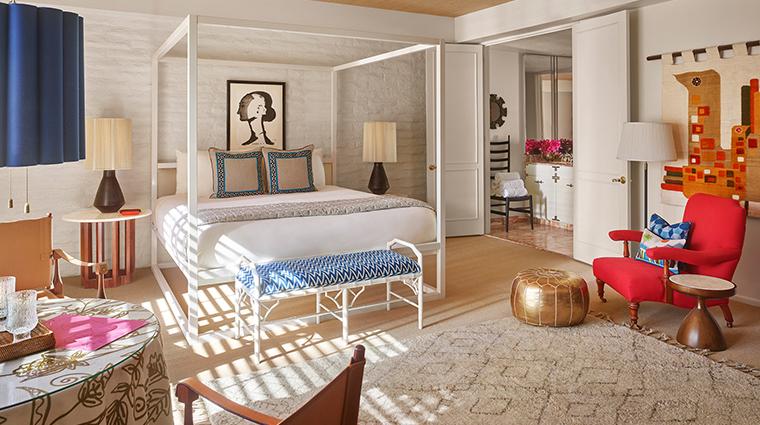 parker palm springs lanai room