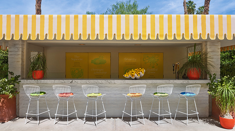parker palm springs lemonade stand