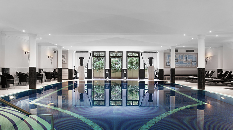 Patrick Hellman Schlosshotel pool view