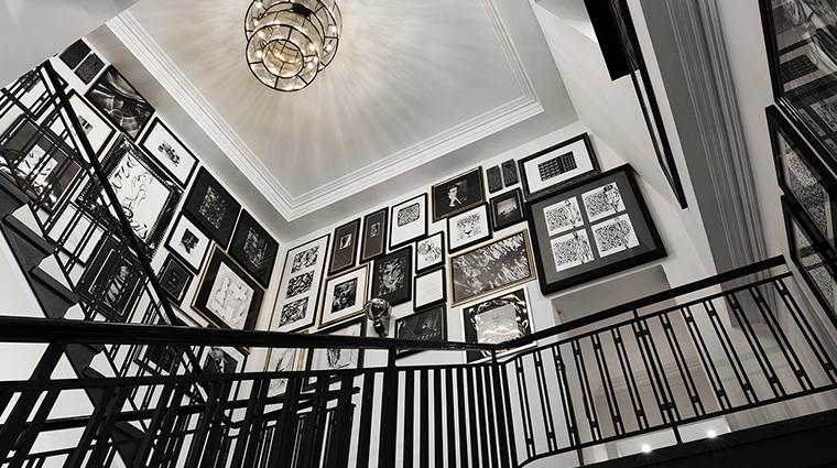 Patrick Hellman Schlosshotel stairs