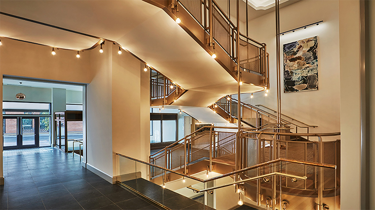 pendry san diego grand staircase