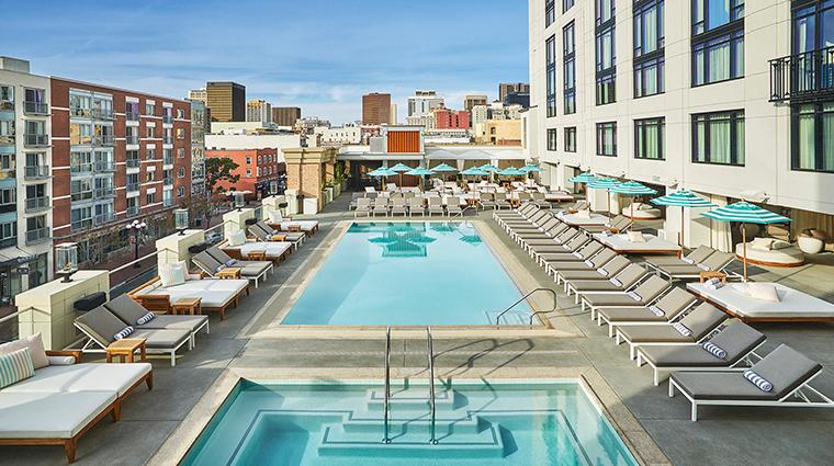 pendry san diego rooftop pool