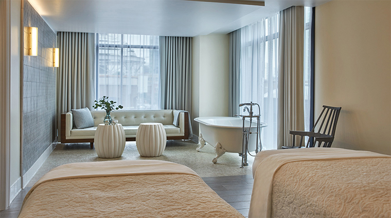 pendry san diego spa treatment room