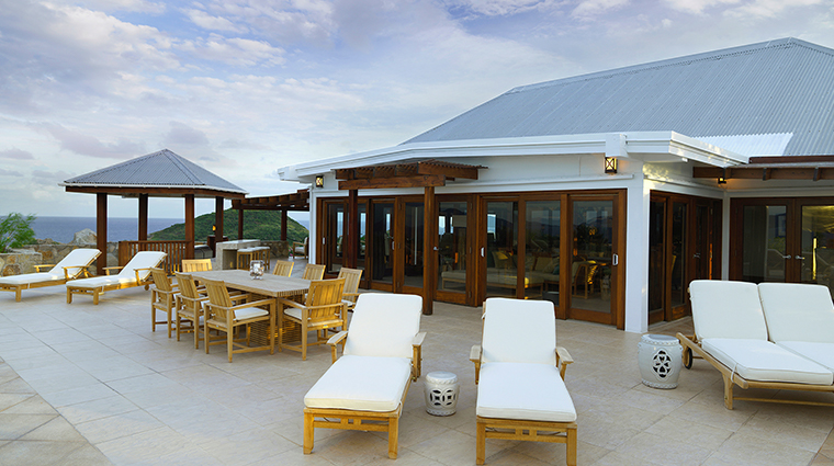 peter island resort spa crows nest deck