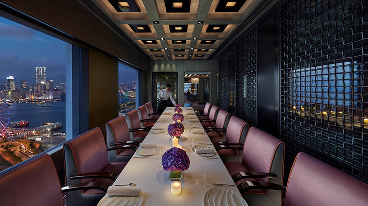 Mandarin Oriental Hong Kong Hotel Dining Pierre Private Restaurant