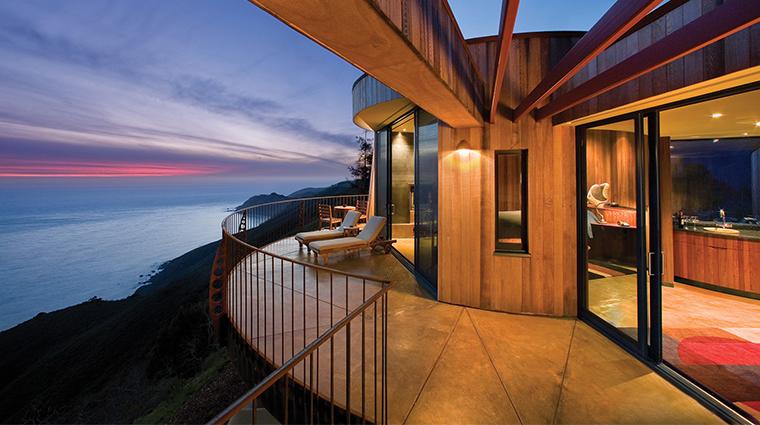 post ranch inn pacific suite deck