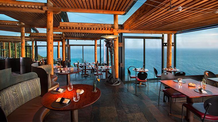 post ranch inn sierra mar dining room