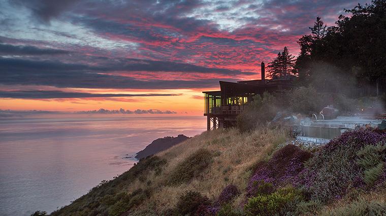 post ranch inn sierra mar sunset