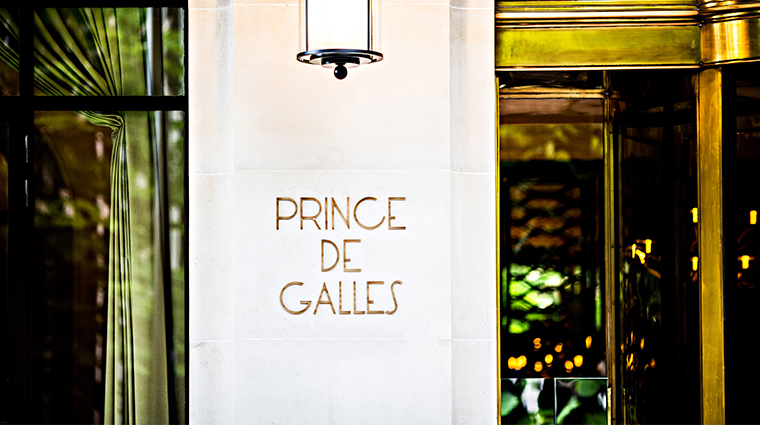 prince de galles a luxury collection hotel exterior