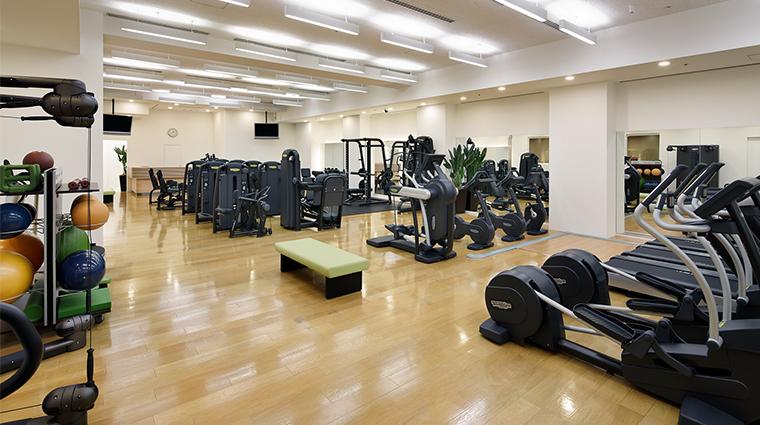 prince sakura tower tokyo fitness center