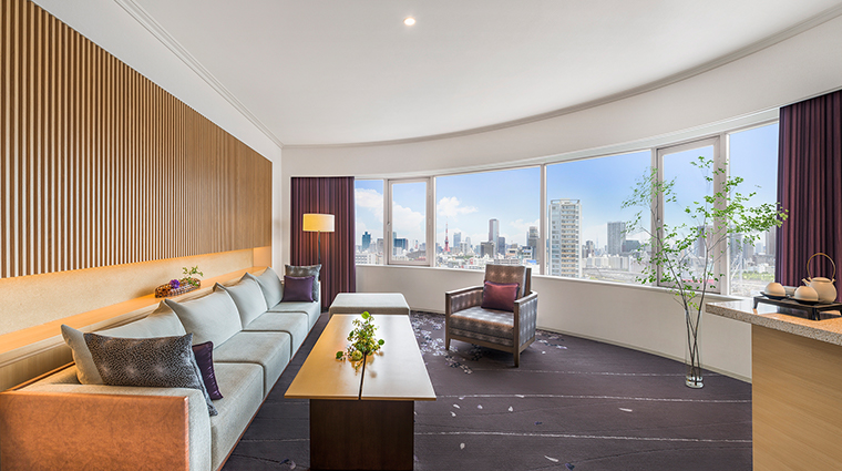 prince sakura tower tokyo sakura suite living
