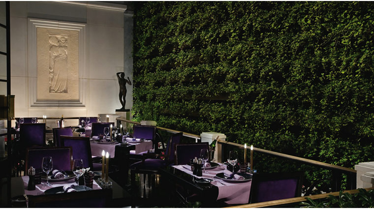 propertyimage MGMGrand LasVegas Restaurant JoelRobuchon Style Interior Credit MGMGrand