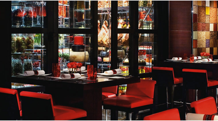 propertyimage MGMGrand LasVegas Restaurant LAtelierJoelRobuchon Style Interior 2 Credit MGMGrand