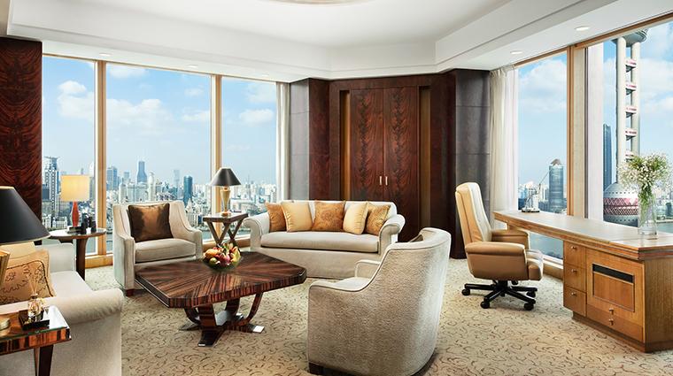 Pudong Shangri La Horizon Premier Suite