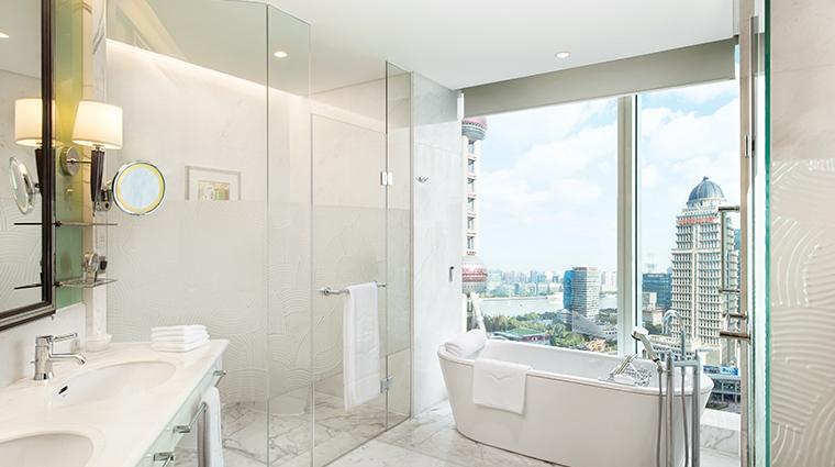 pudong shangri la east shanghai bathroom