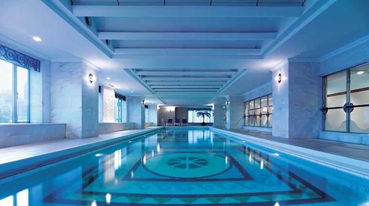 pudong shangri la east shanghai pool