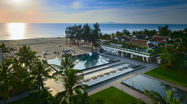 pullman danang beach resort exterior