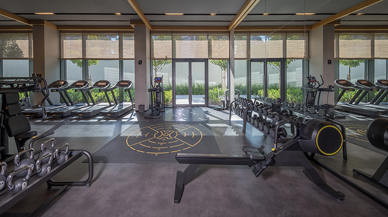 caesars palace bluewaters fitness gallery