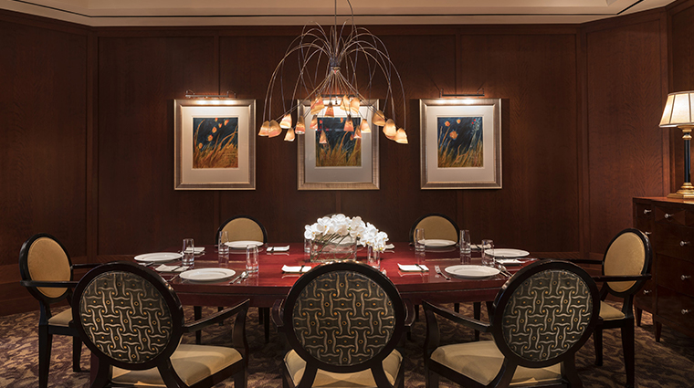 quattro tuscany private dining room
