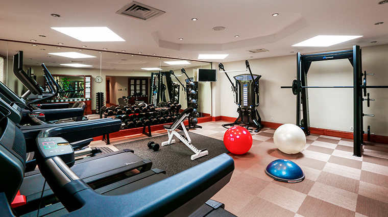 radisson blu alcron hotel fitness center