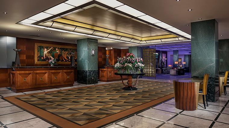 radisson blu alcron hotel reception