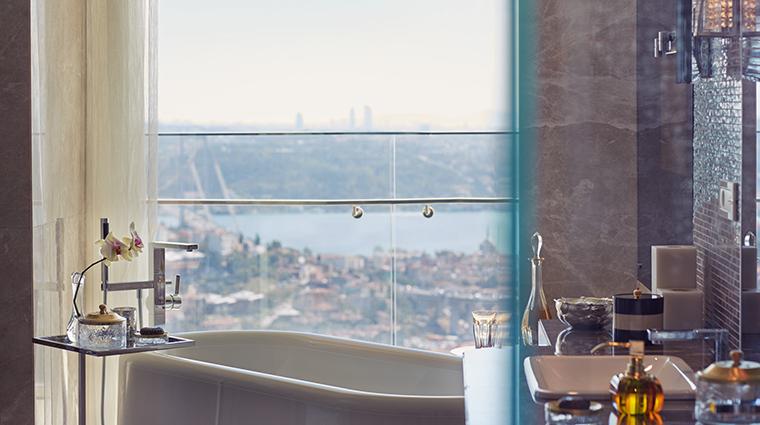 raffles istanbul continental suite bathroom