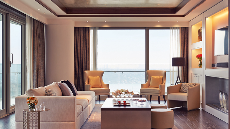 raffles istanbul continental suite lounge