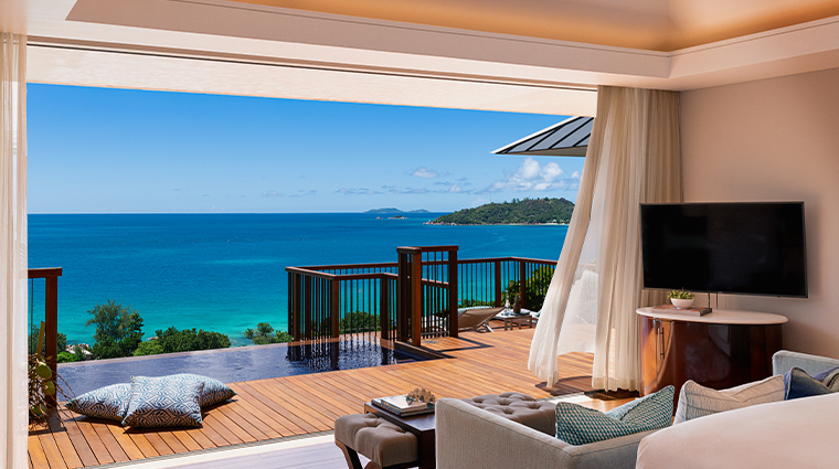 raffles seychelles Panoramic Pool Villa