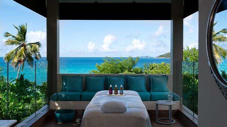 raffles seychelles Spa Outdoor Treatment Room