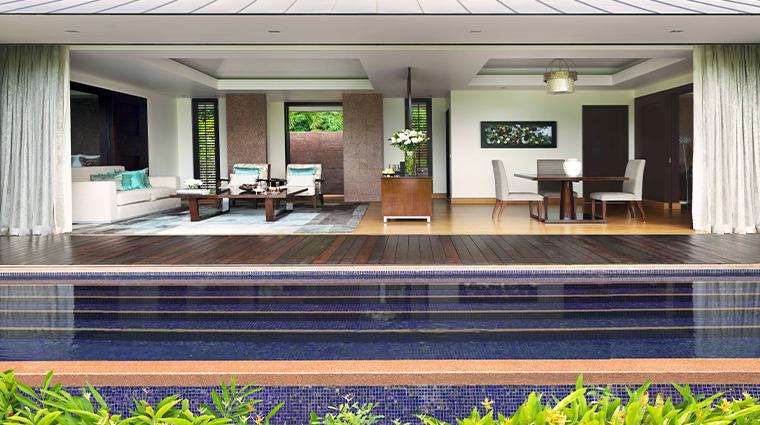 raffles seychelles beachfront villa
