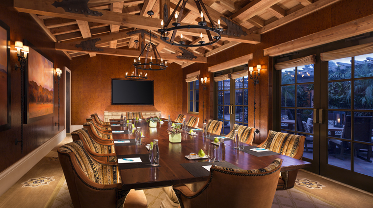 rancho valencia resort spa boardroom