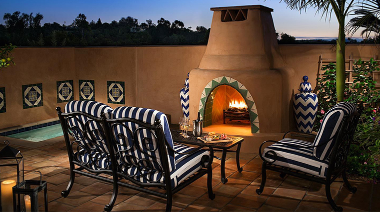 rancho valencia resort spa casita suite patio