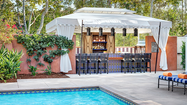 rancho valencia resort spa rein bar