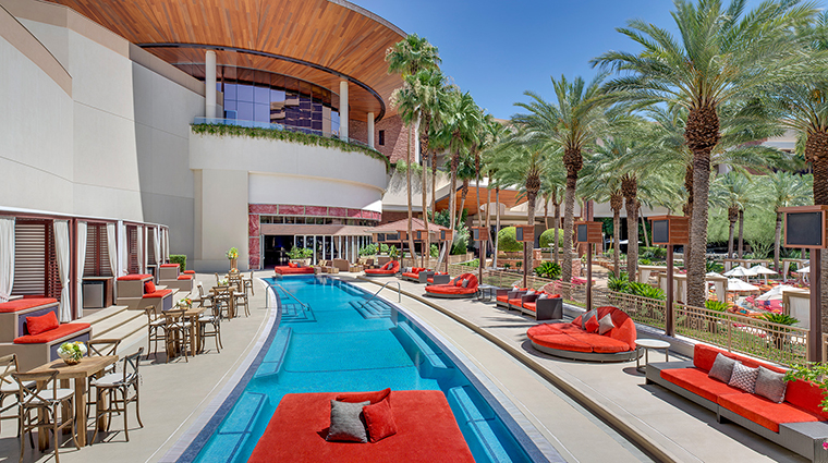 Red Rock Casino Resort and Spa Crimson pool