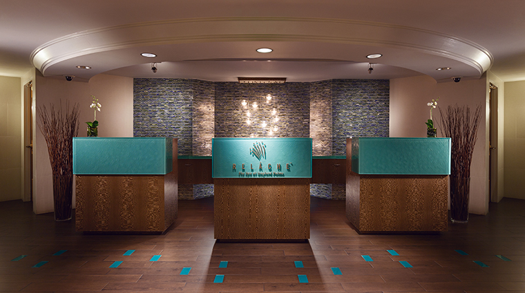 relache spa salon lobby