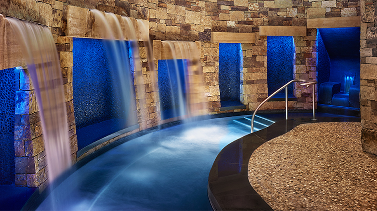 remede spa aspen confluence waterfall