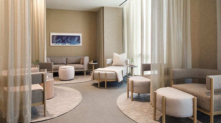rose relaxation room