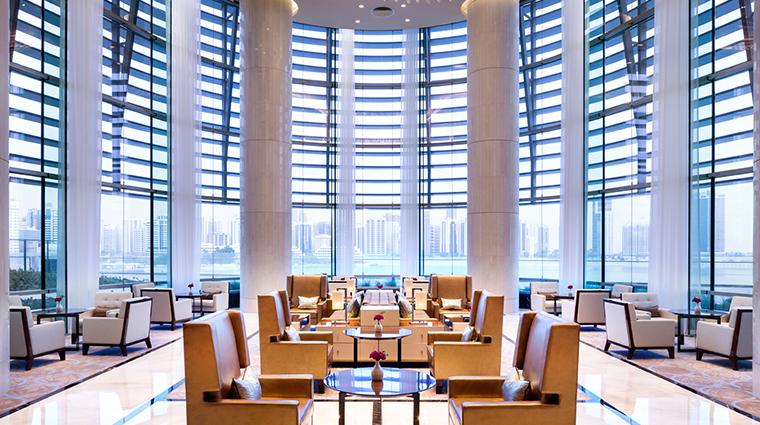 rosewood abu dhabi lobby lounge