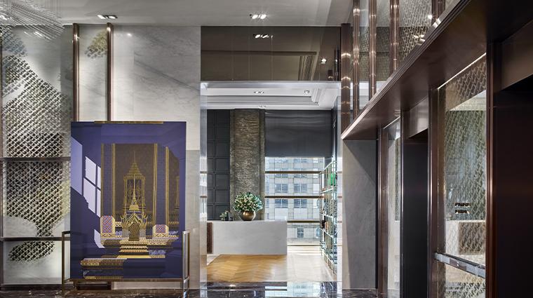 rosewood bangkok lobby