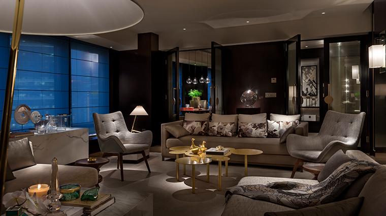 rosewood beijing Beijing house living room