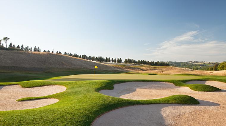 rosewood castiglion del bosco Golf Course sand dune