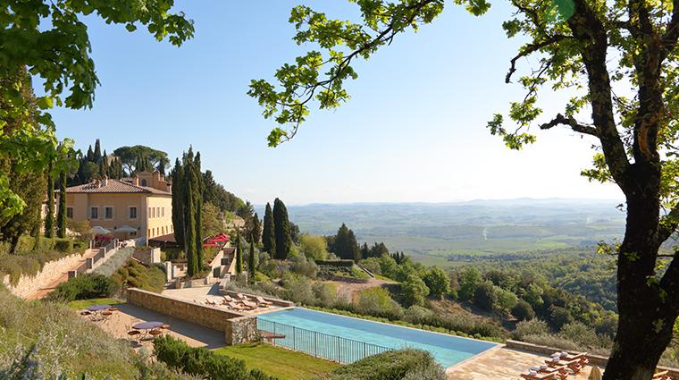 rosewood castiglion del bosco Il Borgo with Pool