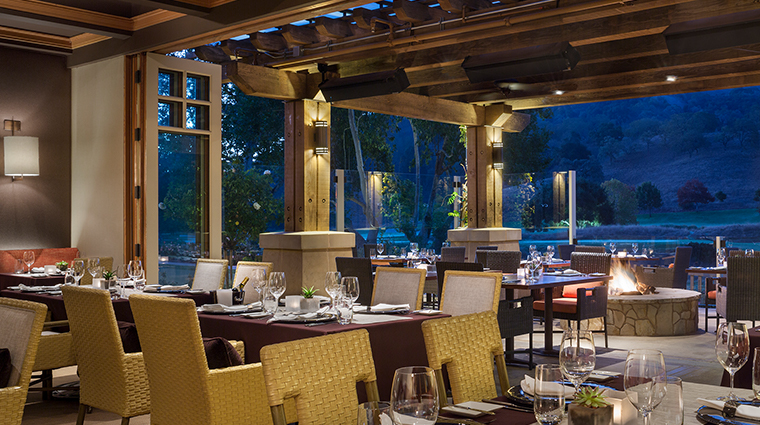 Rosewood CordeValle restaurant