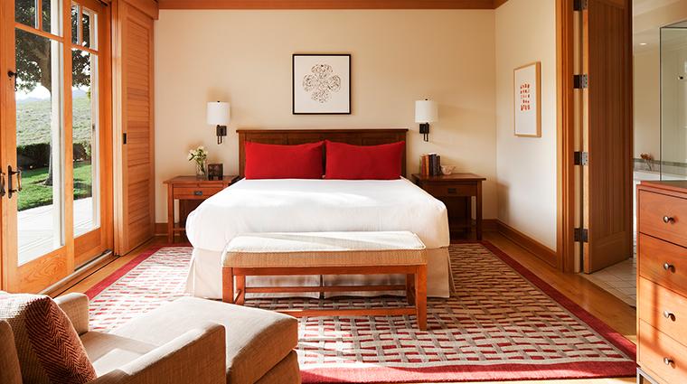 Rosewood CordeValle villa bedroom