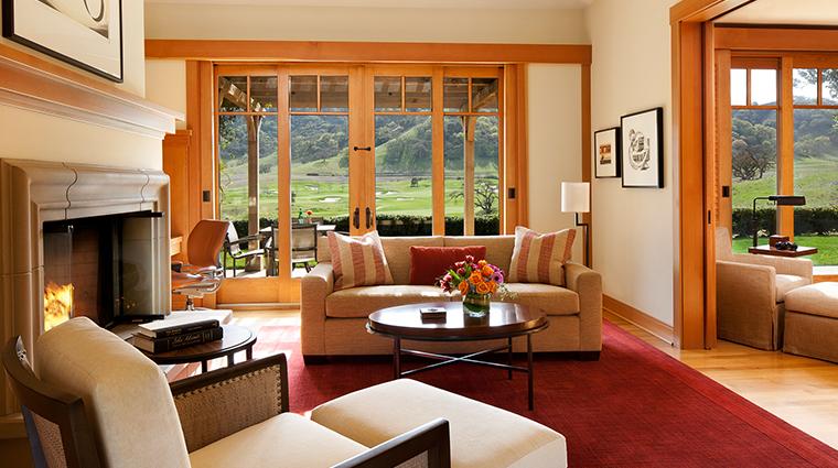 Rosewood CordeValle villa living room