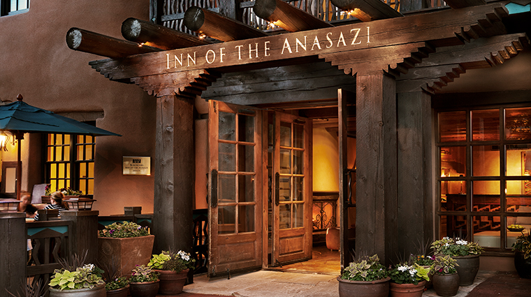 rosewood inn of the anasazi exterior