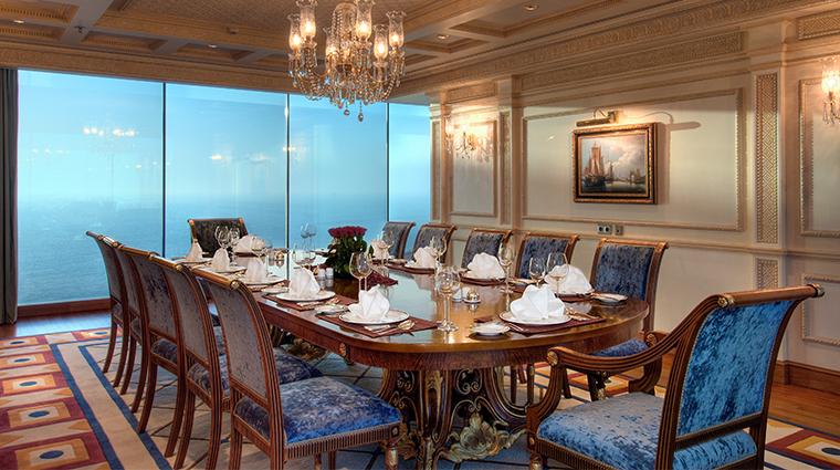 rosewood jeddah guestroom dining room